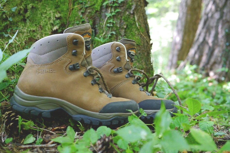mountaineering and hiking shoes