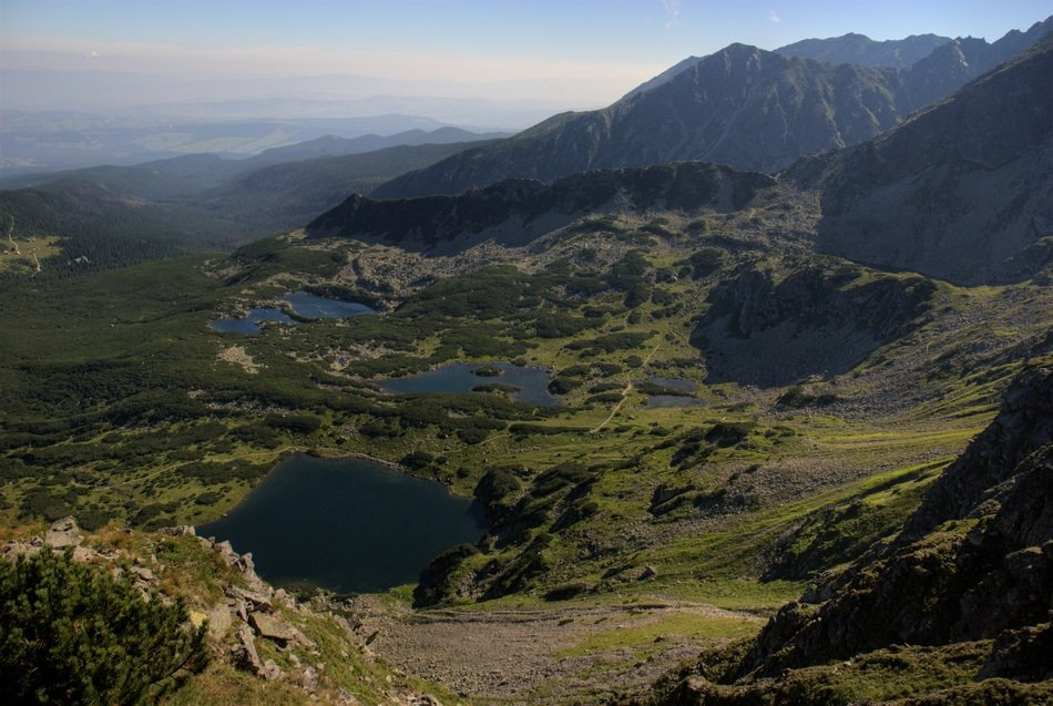 tatry mountains landscape view