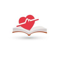 Heart beating book