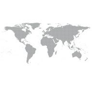 Gray World Map Vector N3