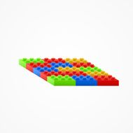 Plastic building Blocks N2
