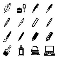 Writing Tools Icons