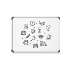 Vector whiteboard concept icon