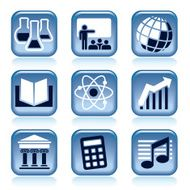 Science and Education Icons N11