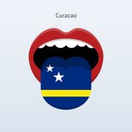 Curacao language Abstract human tongue