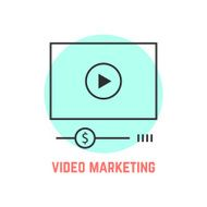 video marketing with thin line player