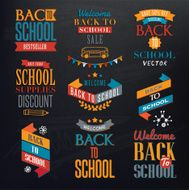 Back to School Calligraphic Designs N12