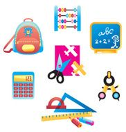 School Supplies Set Two