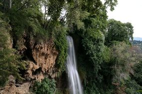 natural waterfall in edessa
