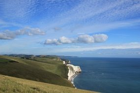Beautiful coast of Dorset