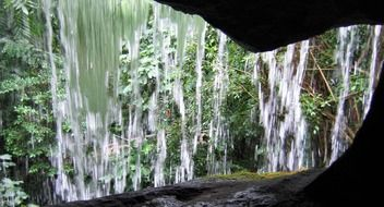 waterfall from the inside