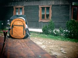 hiking backpack in Poland