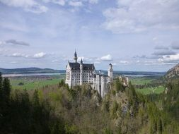 baroque neuschwanstein castle