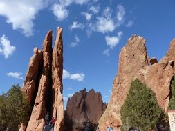 garden of gods in Colorado