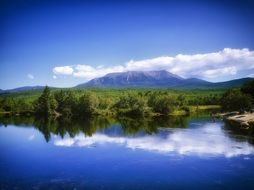extraordinarily beautiful katahdin mountains