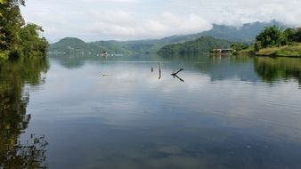 Lake Begnas - a lake in the central part of Nepal