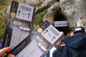 tickets to a grotto