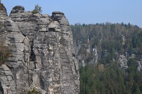 Elbe Sandstone Mountains in Saxon Switzerland