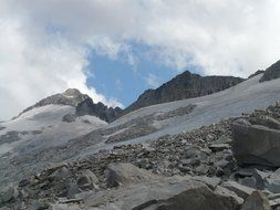 wonderful pico aneto glacier