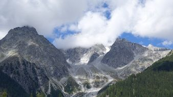 south tyrol mountains