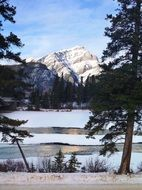 Landscape of Banff