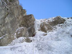 north wall ice climbing alpinism