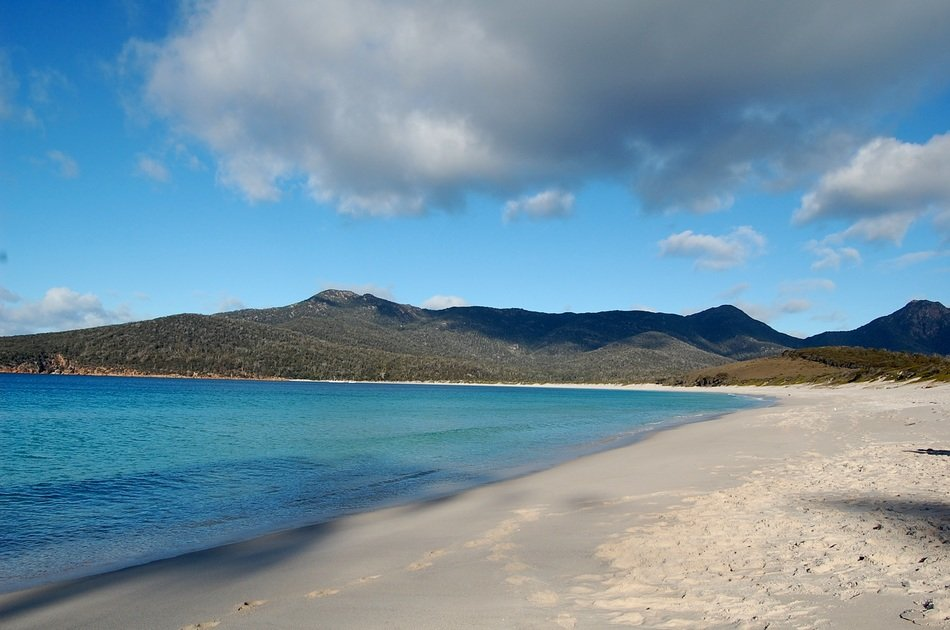 wineglass bay of Tasmania Australia