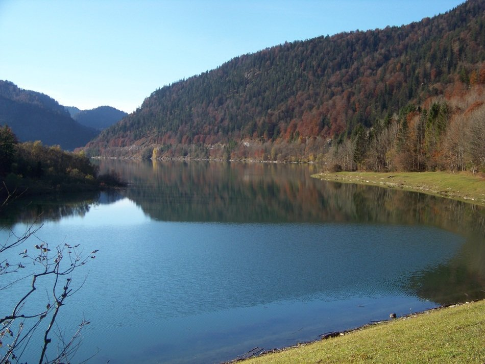 picturesque landscape near the lake Tegernsee