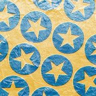 grunge background with stars in circles N2