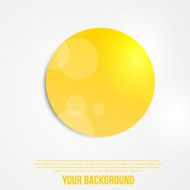 Vector abstract circles template Object web N14