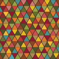 Abstract background of triangles with rounded corners