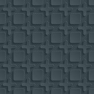 Dark seamless vector background with 3D effect N8