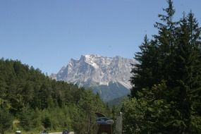 panoramic view of the Alps in South Tyrol