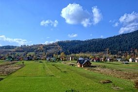 Poland Pieniny autumn