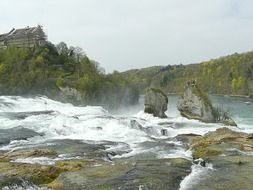 Rhine falls in Germany