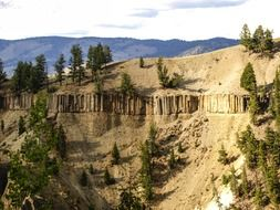 Exposition at Yellowstone National Park
