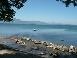 chiemsee is a freshwater lake in Bavaria