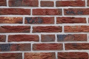 burnt brick wall