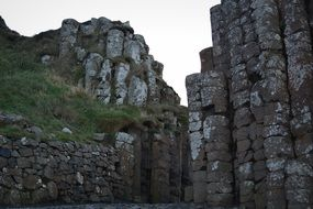 giant s causeway rocks in Northern Ireland