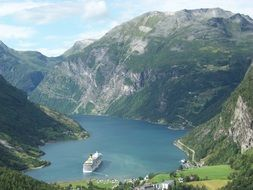 fjord norway nature