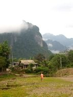 vang vieng mekong laos mountains
