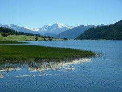 Lake in South Tyrol