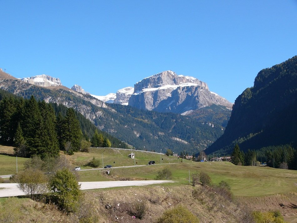 majestic mountain in south tyrol