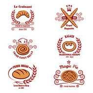 Bakery bread logos