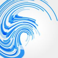 abstract blue wave stripe pattern background N3