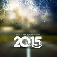 Happy New Year 2015 background N18