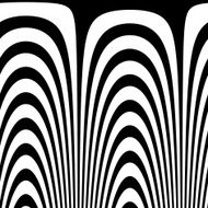 Abstract zebra pattern Vector abstract background Op Art