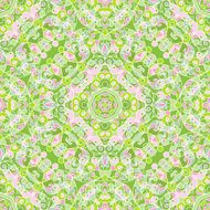 Vector seamless pattern in Eastern style N3