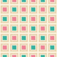 seamless square tiles pattern