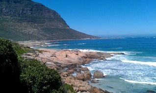 sandy beach in south africa